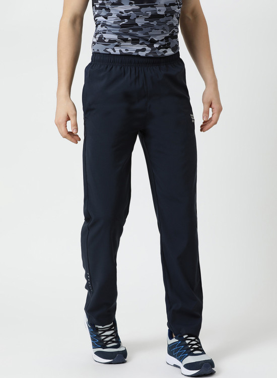 0062283a53f80 Trackpants. 51 Styles. Rock.it Navy Blue Solid Track Pants 2190100483-2 1645